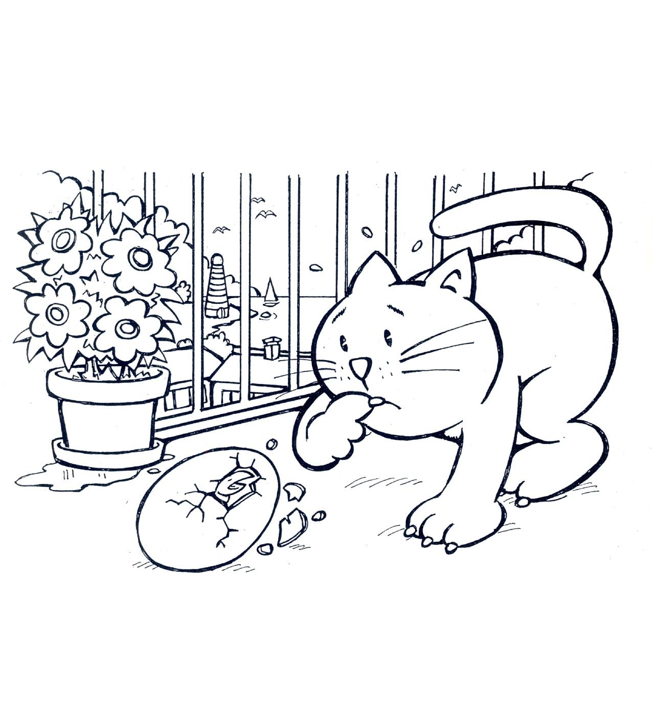 Famoso La gabbianella e il gatto – disegni da colorare | Unione Musicale PQ79
