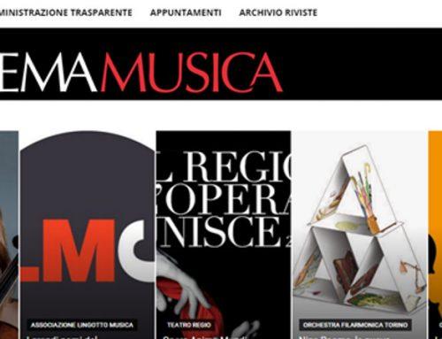 """Online il nuovo """"Sistema Musica"""""""