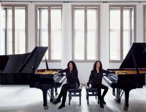 Bis del concerto delle sorelle Labèque con Simone Rubino e Andrea Bindi