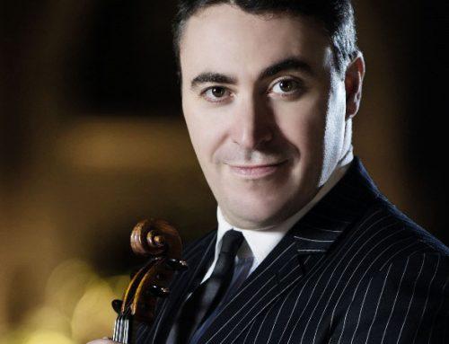 Arriva a Torino Maxim Vengerov con il suo Stradivari l'ex Kreutzer, mercoledì 11 aprile 2018 – Comunicato stampa