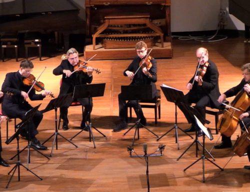 Bis del concerto dell'Ottetto d'Archi dei Berliner Philharmoniker