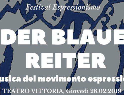 DER BLAUE REITER E LA MUSICA DEL MOVIMENTO ESPRESSIONISTA (28/2) – Comunicato stampa
