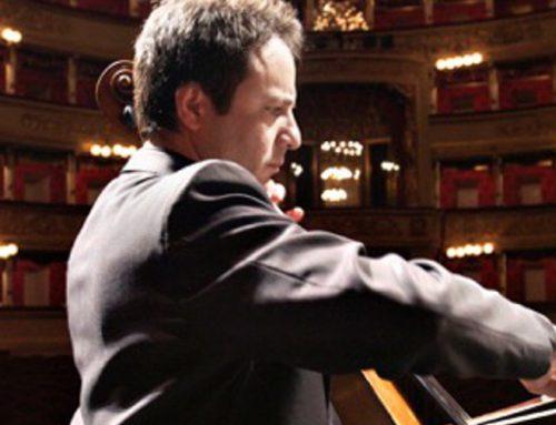 Massimo Polidori protagonista delle Suite per violoncello solo di Bach (13/3/2019) – comunicato stampa