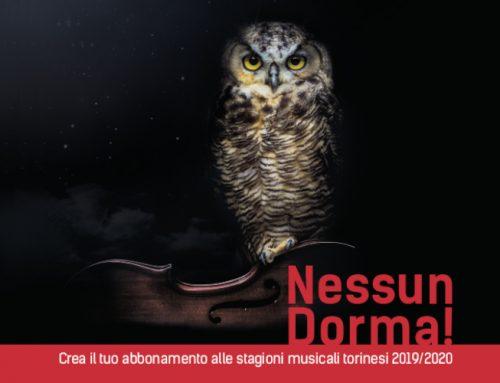 Esauriti abbonamenti Nessun dorma! 2019-2020