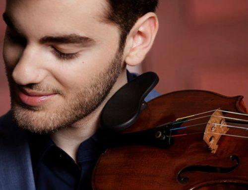 Talento eccezionale, il violinista Emmanuel Tjeknavorian debutta all'Unione Musicale (29/01/2020) – comunicato stampa