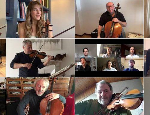 ESCLUSIVO! Il saluto degli artisti al pubblico dell'Unione Musicale