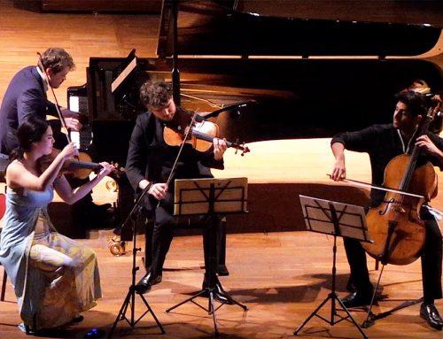 Bis del Quartetto Park-Ridout-Soltani-Grosvenor